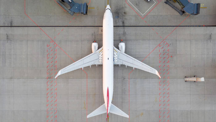 737 from above